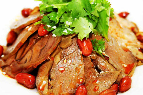 Fu Qi Fei Pian (Braised Cow Lungs)