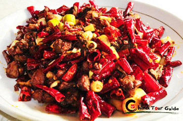 Gong Bao Ji Ding (Spicy diced chicken with peanuts)