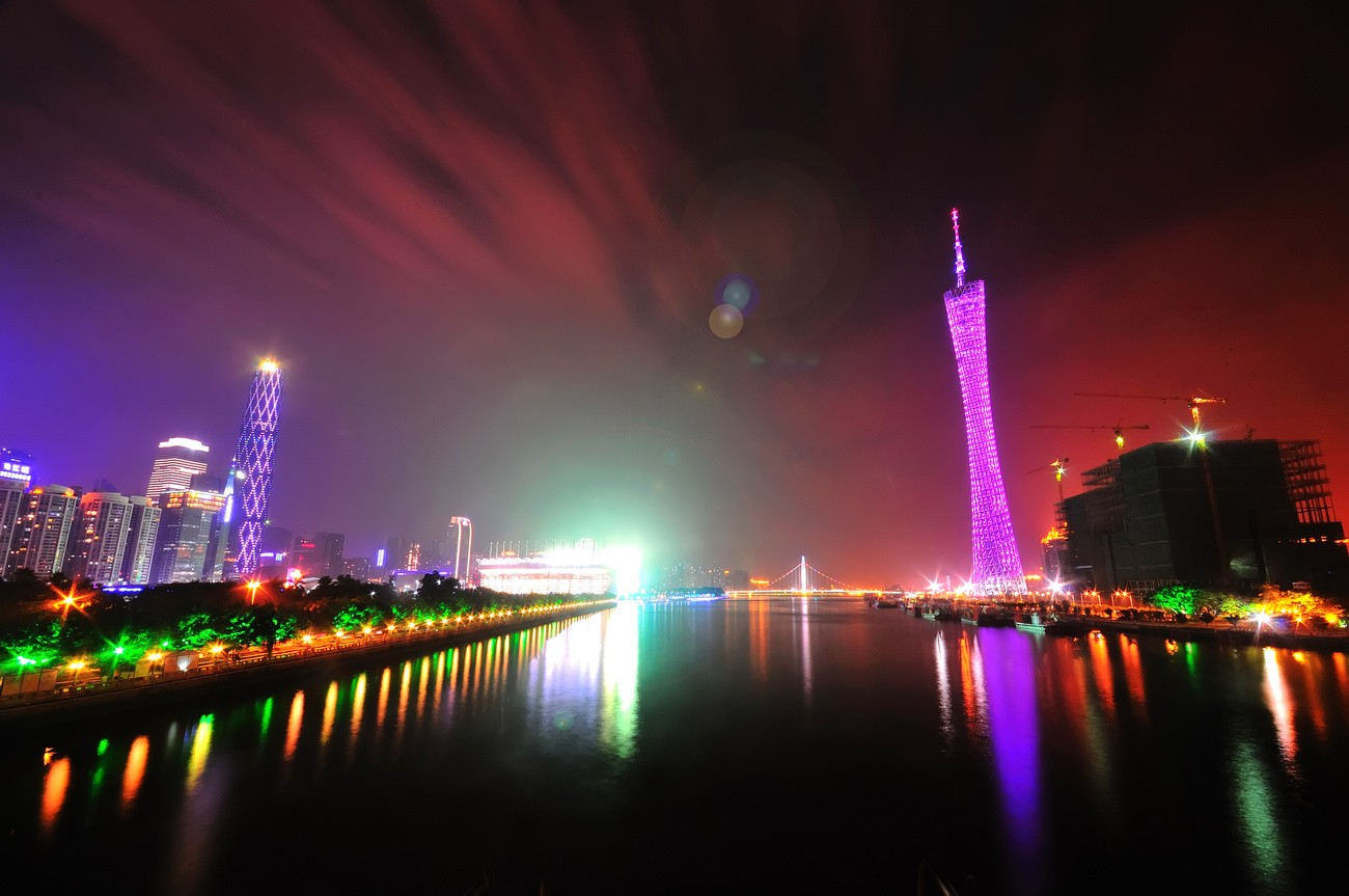 Canton Tower Nightview