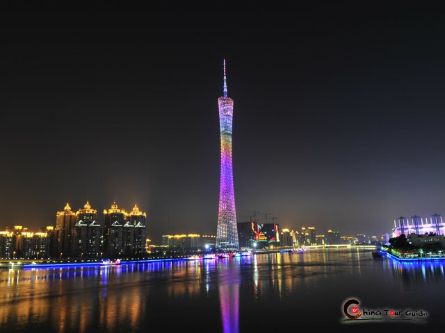 Pearl River & Canton Tower