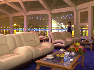 Pearl River Night Cruise VIP deck