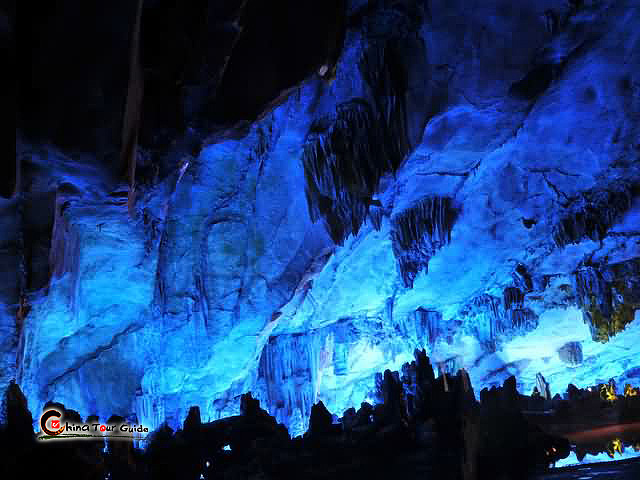 Curtains Ideas blue and purple curtains : Reed Flute Cave Guilin, Reed Flute Cave Tour, Reed Flute Cave Guilin ...