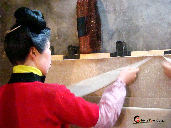Shiqiao Village Paper making