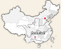 location of guizhou in China