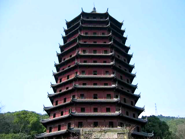 six harmonies pagoda hangzhou six harmonies pagoda tour hangzhou