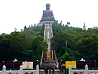 Distant View of Magnificent Giant_Buddha