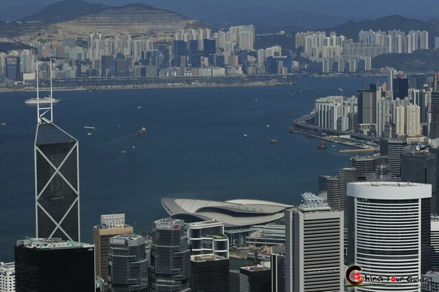 Hong Kong Overview from the Peak