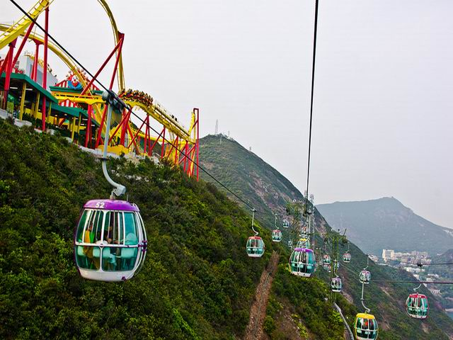 Get a Wonderful Sight by Cable Car