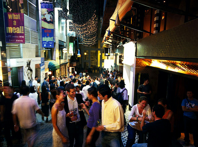 Lan Kwai Fong--Hong Kong's Party Central