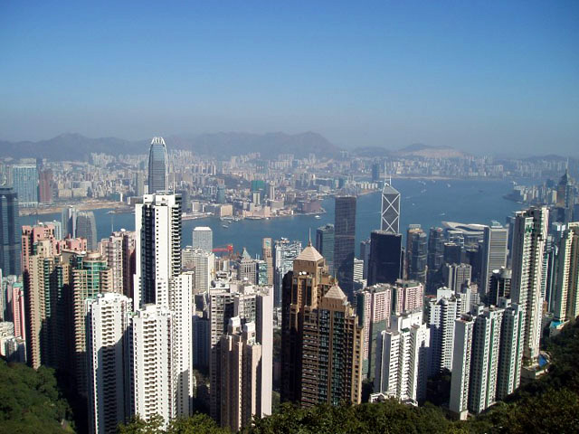 Hong Kong Overview from Victoria Peak