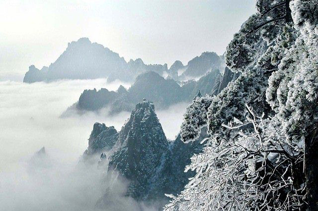 Huangshan Mountain, Yellow Mountain, Huangshan Mountain ...