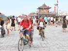 xian ancient wall cycling