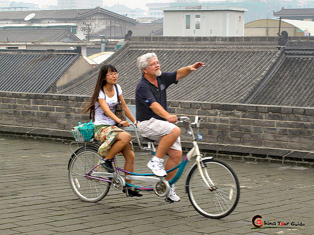 Xian City Wall Cycling