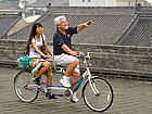 Cycling on Ancient City Wall