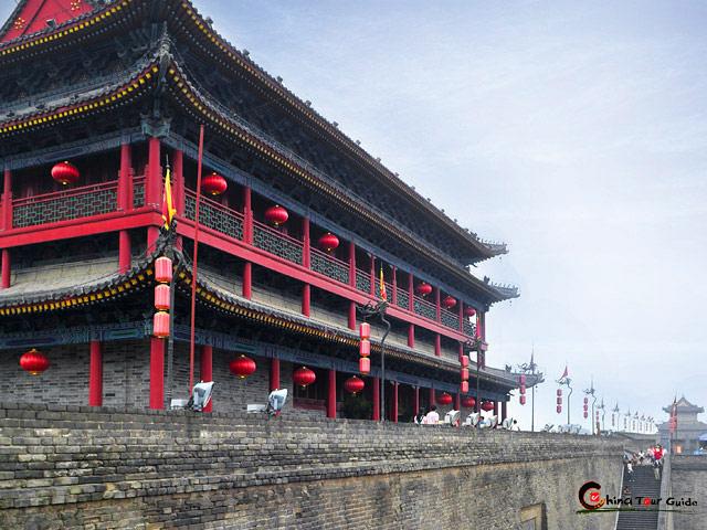Xian City Wall Xian City Wall Tours Xi An Ancient City