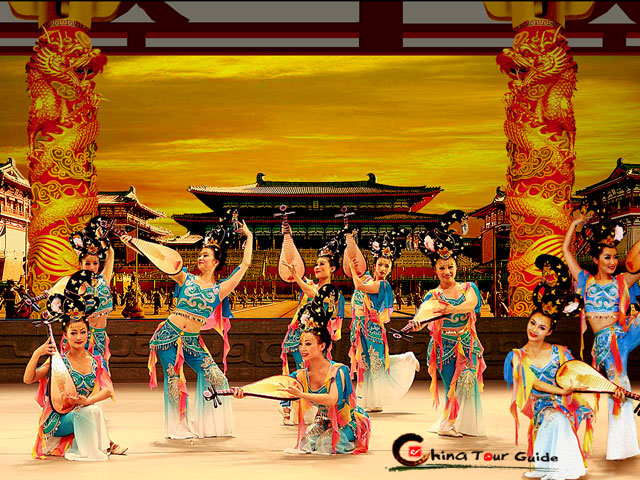 Tang Dynasty Show Colors of the Autumn