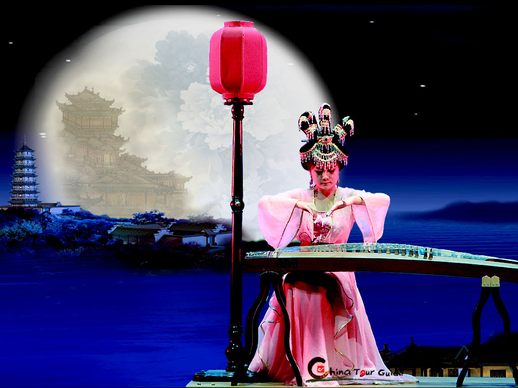 Tang Dynasty Show Singing to the Moon