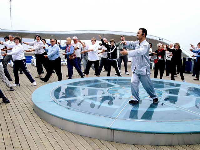 Morning Tai Chi Onboard
