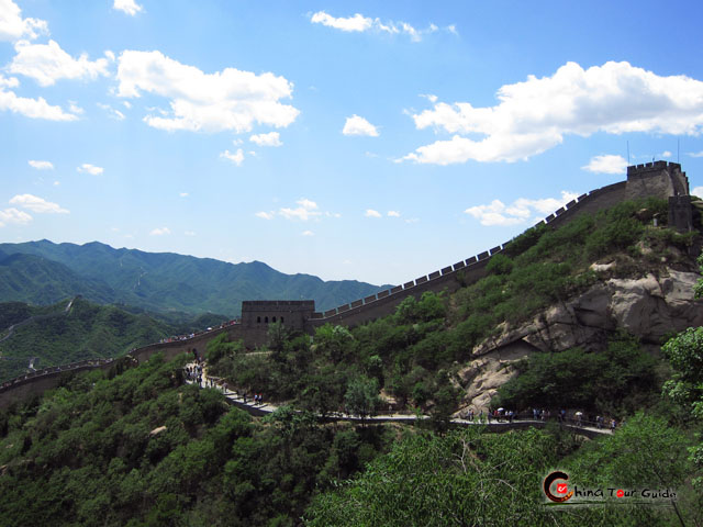 A outlook of Badaling Great Wall