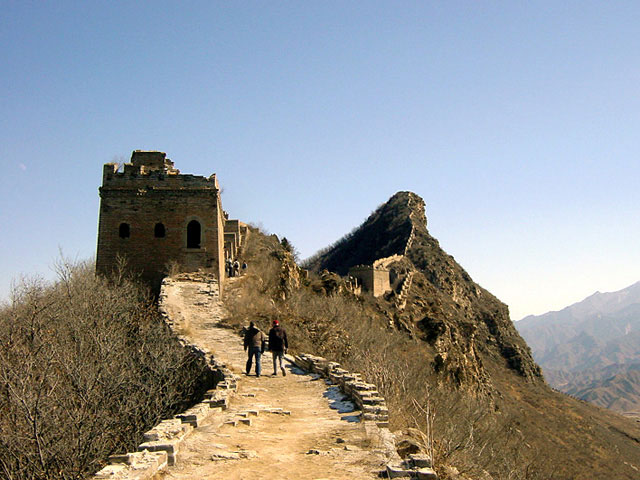 ruined great wall