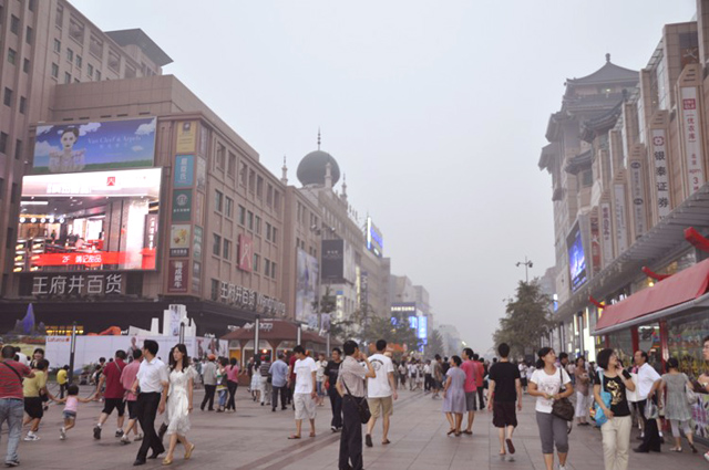 Wangfujing Pedestrian Street