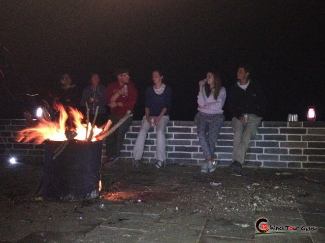 Great Wall Bonfire