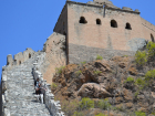 steep steps of Great Wall
