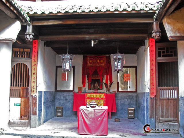 Ancestral Hall, Center of Fujian Tulou