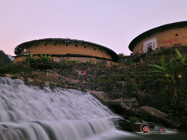 Jiqing Lou - Oldest and Largest one of Chuxi Tulou Cluster