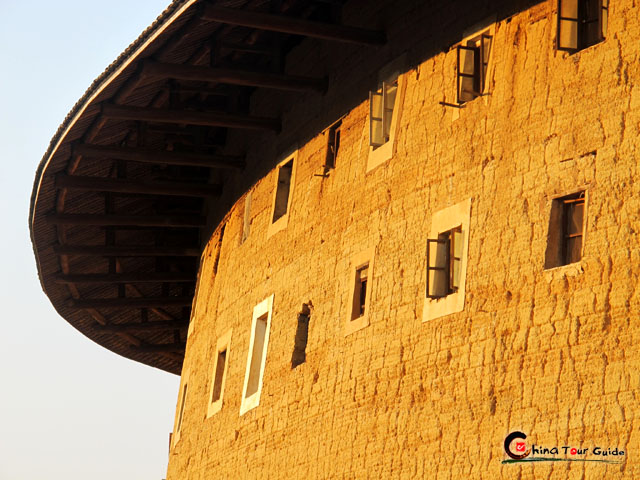 Fujian Tulou Grand Exterior - Walls Without Nails