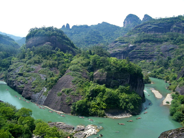 Wuyishan Mountains