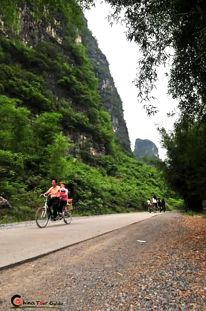 cycling tour in Yangshuo
