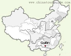 Guilin China Map