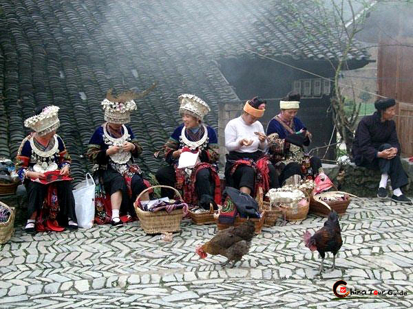 peaceful life of langde villagers