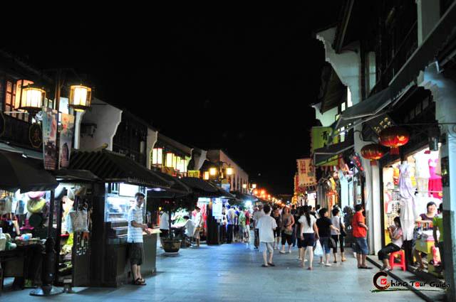 Hefang Street Hefang Old Street Hangzhou China Hefang Old