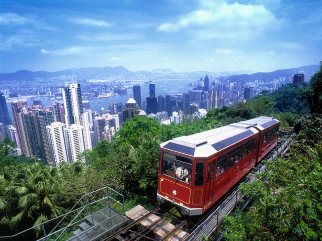 Afbeeldingsresultaat voor hong kong victoria peak