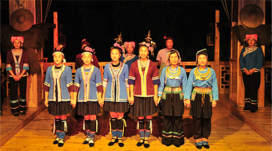Zhuang People Singing Their Charming Folk Songs