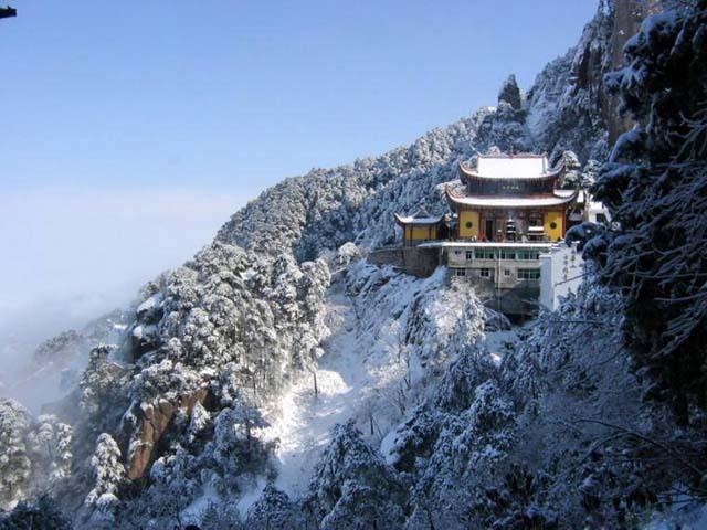 Jiuhua Mountain - One of China s Buddhist RetreatsChina Mountain Temple