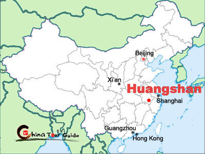 Huangshan Maps Huangshan Mountain Tourist Maps Chinatourguide