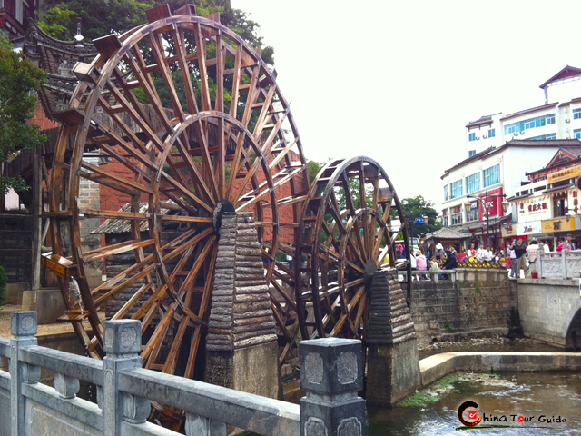 great water wheel