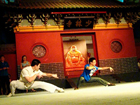 Kungfu show in Shaolin Temple