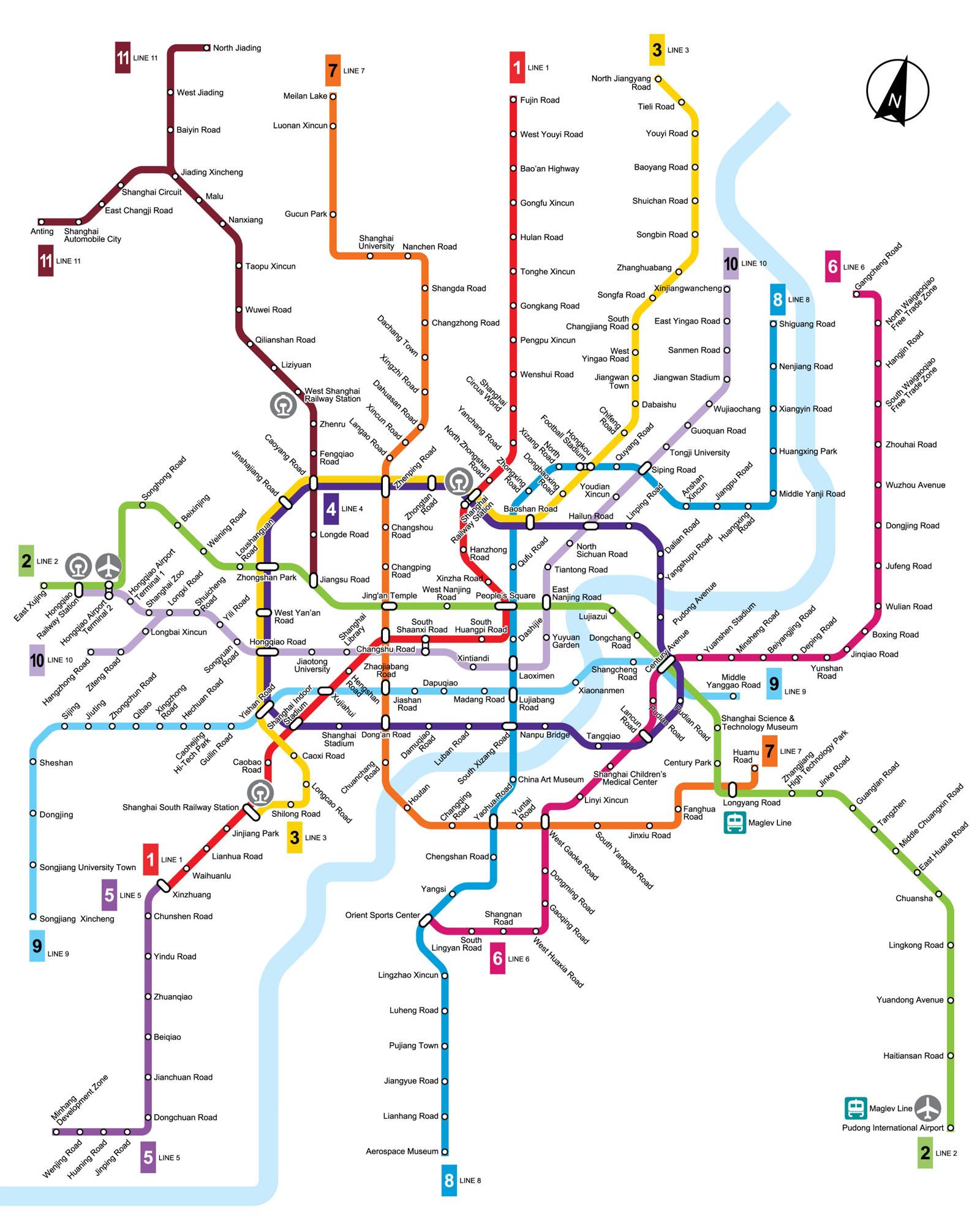 Shanghai Metro Map 2016.Shanghai Photos Maps Transportation Shanghai Maps Shanghai