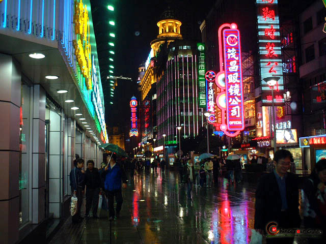 Nanjing Rd, Shanghai is the primary location for Feile Shanghai 10th - 13th March 2010.