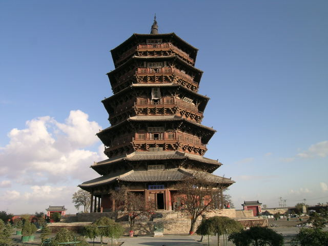 Wooden Pagoda of Ying County