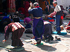 Pilgrims in Jokhang Temple