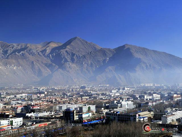 Lhasa China Map.Lhasa Holy City Lhasa City Tibet China Lhasa Map Lhasa Attractions