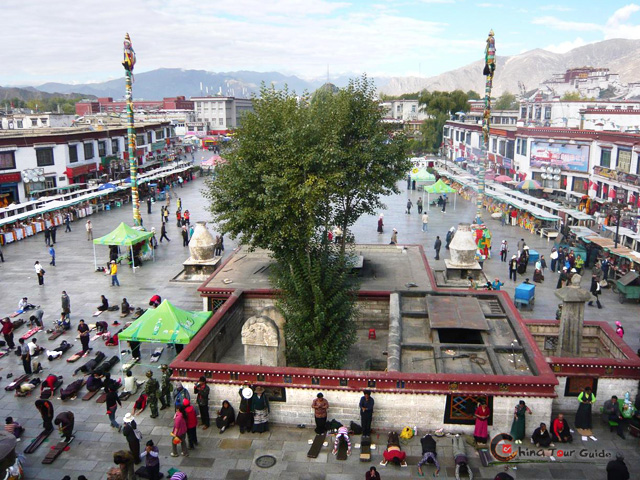 Lhasa center square