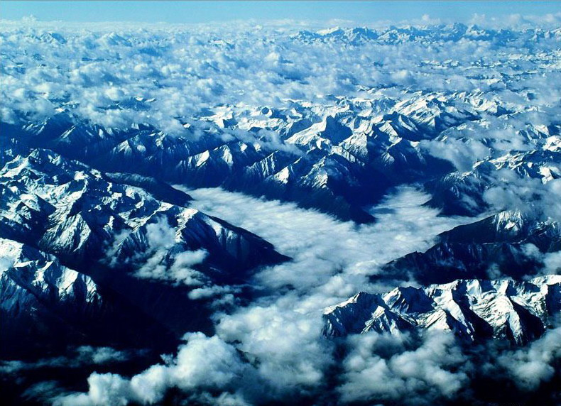 Birdview of Tibet