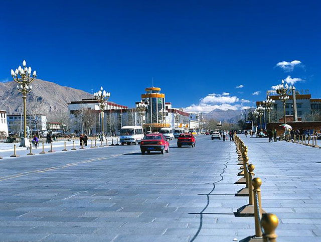 Shigatse City View
