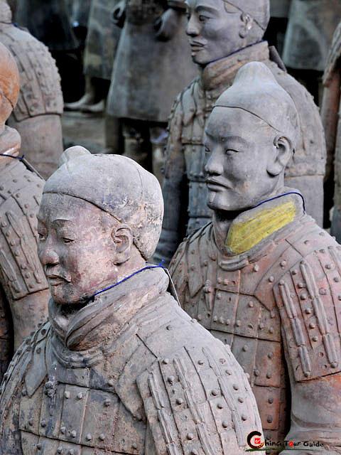 Terracotta Warriors Pit 1 Terracotta Army China Xian